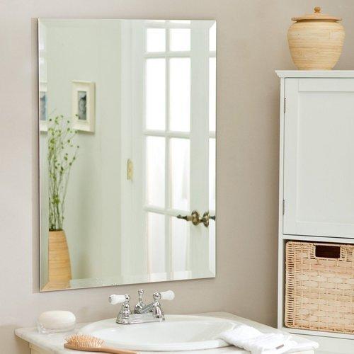 Frameless Mirrors