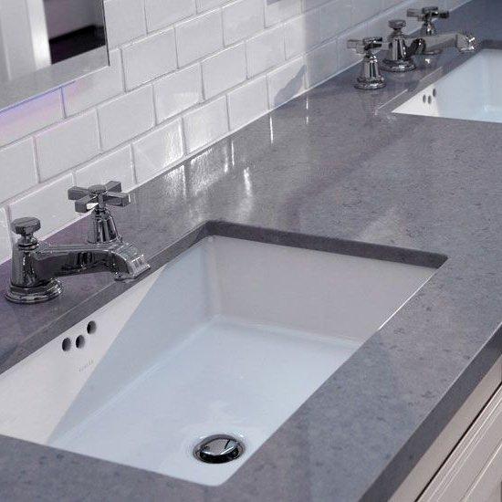 Gray Quartz Vanity Top