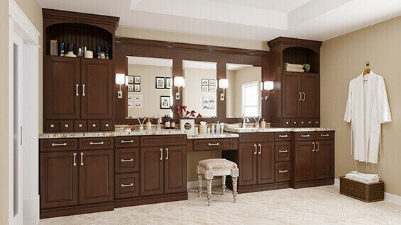 Wholesale Rta York Chocolate Online Great Buy Cabinets
