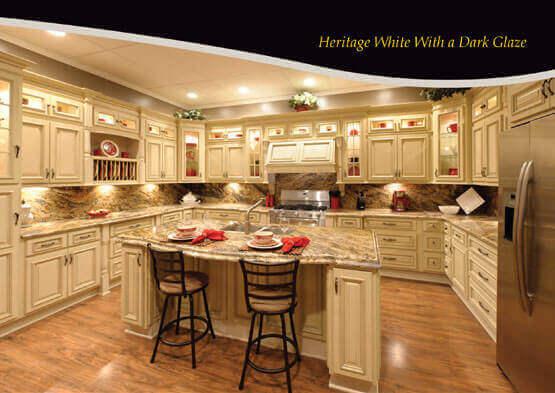 Wholesale Rta Heritage White Dark Glaze Online Great Buy