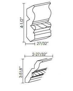 Ice White Shaker - CM96C-4 (Rope)