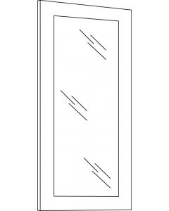 Townsquare Grey - W1836GD (1 pc)