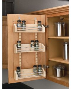 "WALL 21"" DOOR MOUNT SPICE RACK"