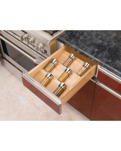 TRIMMABLE SPICE DRAWER INSERT