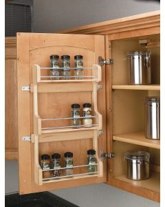 "WALL 18""DOOR MOUNT SPICE RACK"