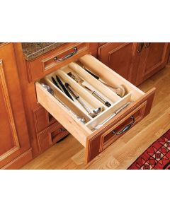 "TRIMMABLE WOOD UTILITY TRAY 18 1/2"" TO 8 1/2"""