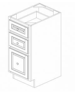 "K-Series Cinnamon Glaze - Vanity Drawer Pack-15""WX21""DX34-1/2""H"