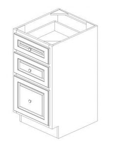 "K-Series Cinnamon Glaze - Vanity Drawer Pack-18""WX21""DX34-1/2""H"