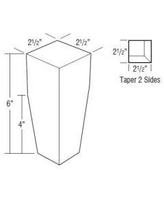 Hickory Shaker Rustic Premium-TAPLG
