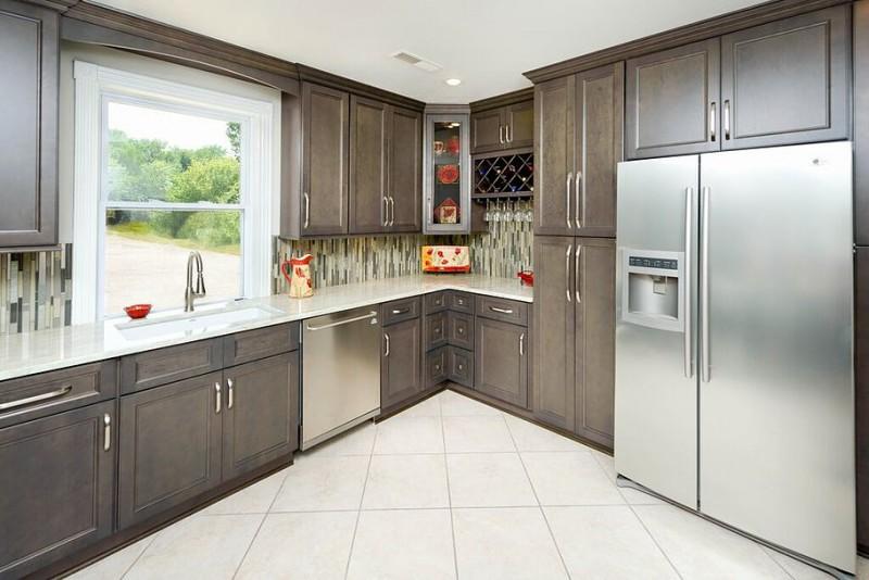 Natural Grey Cabinets