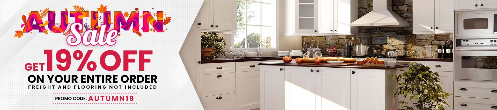 19% Off on all Cabinets