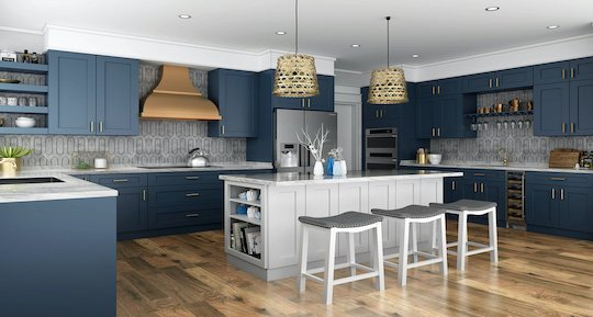 frameless rta kitchen cabinets