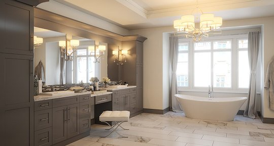 frameless rta bathroom cabinets