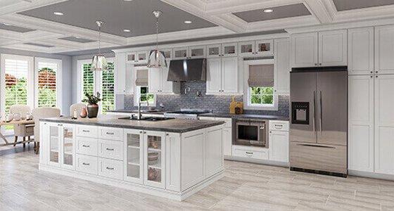 Framed RTA Kitchen Cabinets