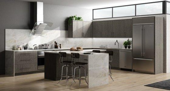 Framed Assembled Kitchen Cabinets